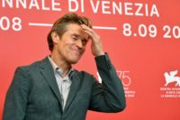 """Actor Willem Dafoe who plays Vincent Van Gogh in """"At Eternity's Gate"""" looked uncannily like the artist in the film, and is already tipped for the best actor prize at the Venice film festival."""