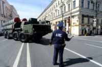 Moscow will send a new S-300 air defence missile system, pictured in St. Petersburg in 2014, to Syria to protect Russian troops