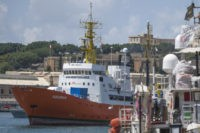 Charities operating migrant rescue ship ask Europe for help