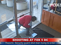 Shooting at FOX 5 DC News Building. Man SHOT by Security. YouTubeTv LIVE NEWS A suspected intruder was shot trying to break into WTTG FOX 5s building in the Friendship Heights neighborhood in D.C. on Monday.