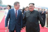 The South's dovish President Moon Jae-in favours engagement with the North