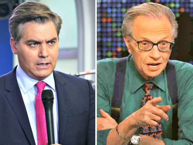 Jim Acosta, Larry King