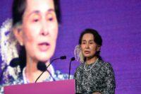 Aung San Suu Kyi has been accused of ignoring the murder, torture and rape of Rohingya Muslims in Myanmar