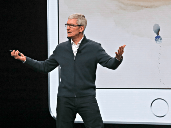 Apple CEO Tim Cook: Banning 'Hate, Division' Is 'Right ...
