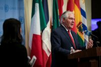 """Former US secretary of state Rex Tillerson says he and President Donald Trump """"did not have a common value system"""""""