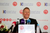 Heimir Hallgrimsson is the 18th coach since 2008 at Qatari club Al-Arabi