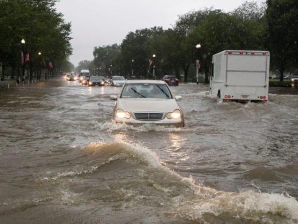 Videos: Flash Flood Emergency as Heavy Rain Drenches D.C. Area