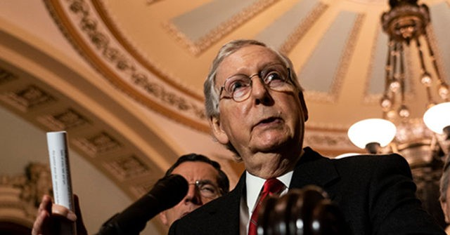 Mitch McConnell: Capitol Rioters Were 'Fed Lies' and 'Provoked by the President' and Others