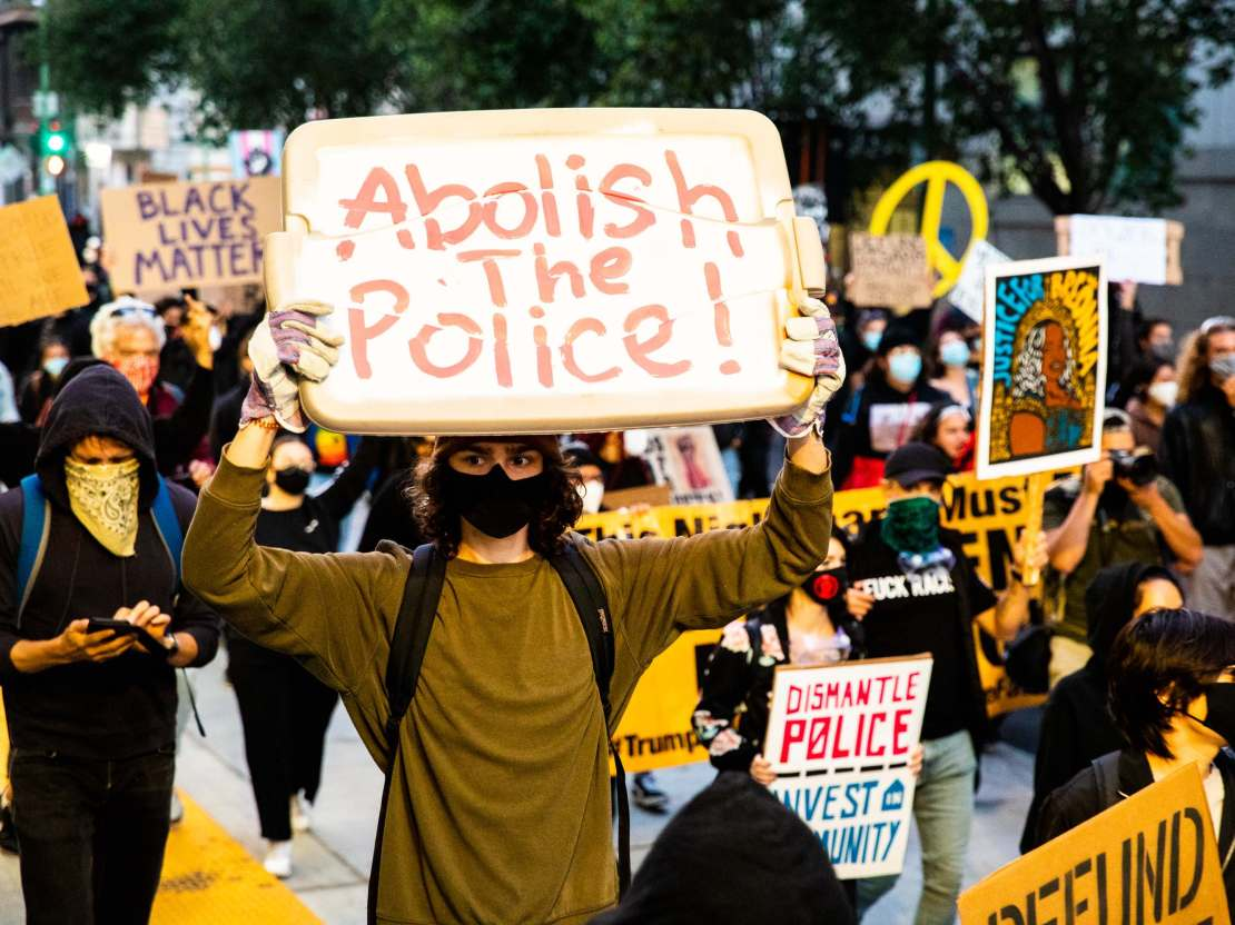 Abolish the Police Oakland (Natasha Moustache / Getty)