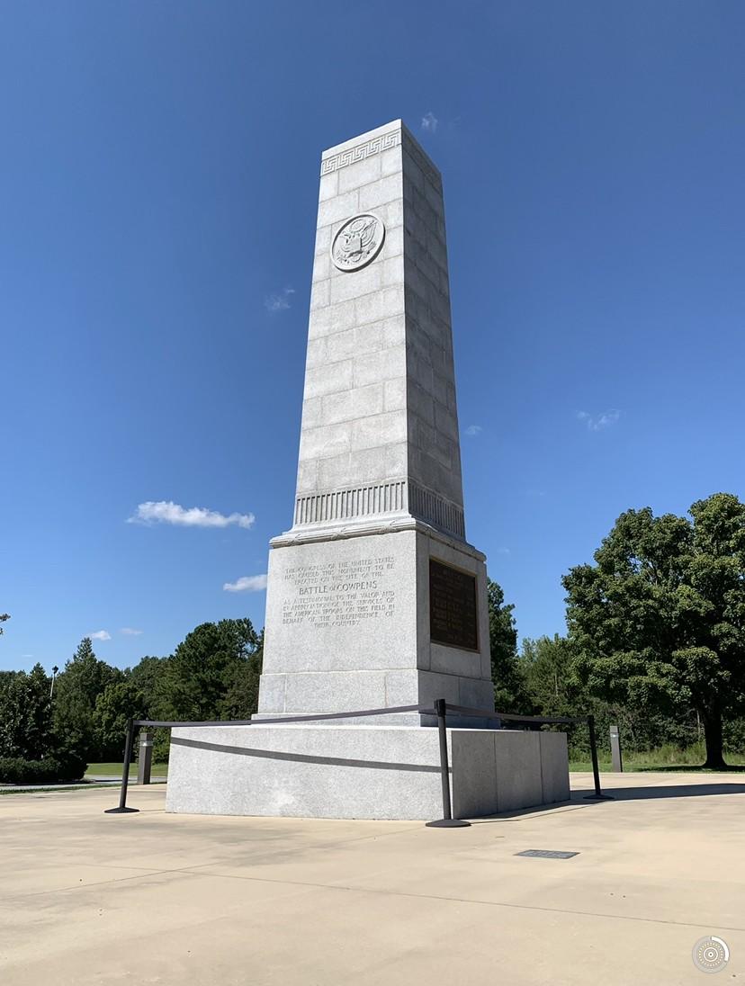 Battle of Cowpens Monument (Joel Pollak / Breitbart News)
