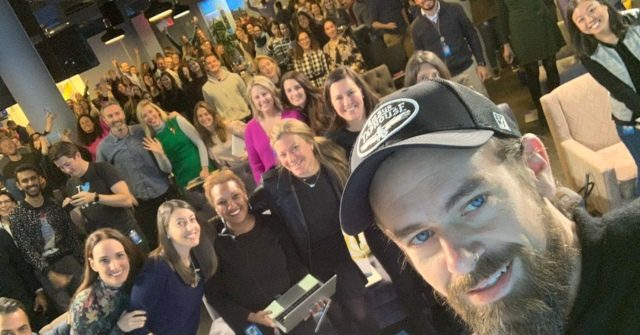 Jack Dorsey and Twitter employees
