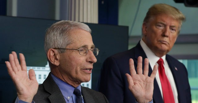 , Fauci: I Was Never 'Anti-Trump' — His Supporters Don't 'Understand' Science Evolves, Nzuchi Times Breitbart
