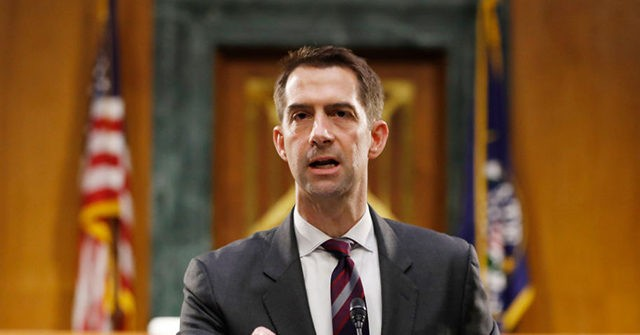 , Tom Cotton: Gwen Berry 'Should be Removed' from U.S. Olympic Team, Nzuchi Times Breitbart