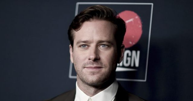 , Actor Armie Hammer Checks into Rehab Facility Amid Cannibalism Scandal Fallout, Nzuchi Times Breitbart