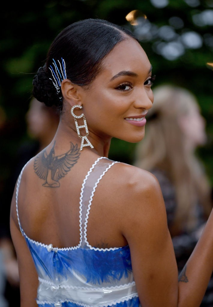 LONDON, ENGLAND - JUNE 25: Jourdan Dunn attends The Summer Party 2019, Presented By Serpentine Galleries And Chanel, at The Serpentine Gallery on June 25, 2019 in London, England. (Photo by Gareth Cattermole/Getty Images)