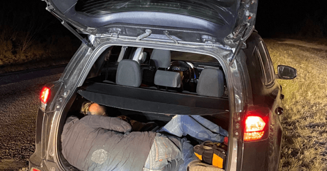 , Human Smuggler Crashes After Vehicle Pursuit near Border in Texas, Nzuchi Times Breitbart