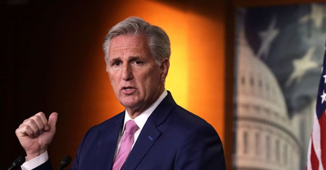 , Kevin McCarthy Releases House GOP 'Framework' for Fighting Big Tech Censorship, Nzuchi Times Breitbart
