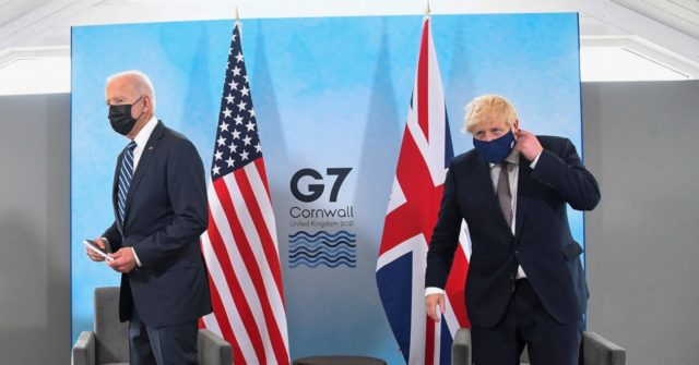 , Boris Compares Himself and Biden to Churchill and Roosevelt, Nzuchi Times Breitbart