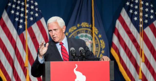 , WATCH — Mike Pence Vows He Will Not Allow Democrats, Media to Distract from Administration 'Intent on Dividing Our Country', Nzuchi Times Breitbart
