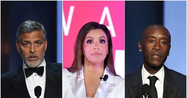 , Leftist Celebrities George Clooney, Eva Longoria, Don Cheadle Funding Film School to Create 'Diverse' Pipeline for Hollywood, Nzuchi Times Breitbart