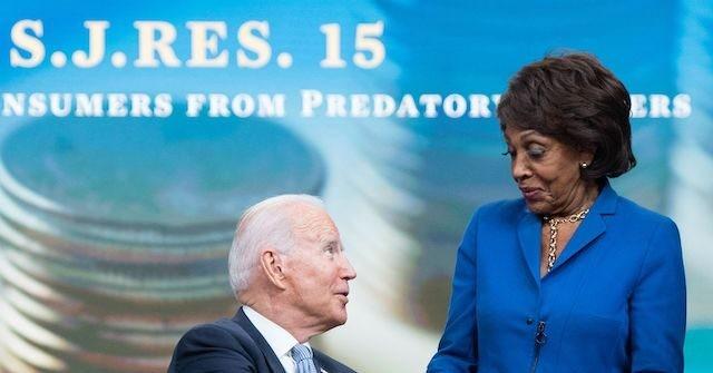 , Biden Suggests Maxine Waters Should Become Senator: 'You Think I'm Kidding? I'm Not', Nzuchi Times Breitbart