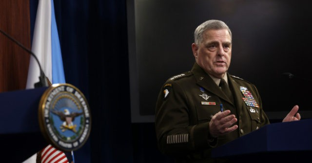 , Gen. Mark Milley Dodges Questions on His 'Fears of a Trump Coup': 'I'm Not Going to Comment', Nzuchi Times Breitbart