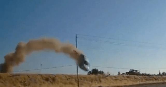 , WATCH: Car Flies Through Power Lines, Slams into Road Below, Nzuchi Times Breitbart