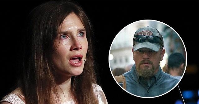 , Amanda Knox Accuses Matt Damon Film 'Stillwater' of Exploiting Her Story, 'Profiting off My Name', Nzuchi Times Breitbart