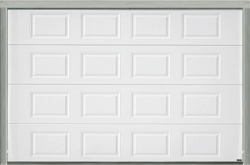 PORTE DE GARAGE SECTIONNELLE MOTORIS    E BLANCHE H200XL300   Bricoman PORTE DE GARAGE SECTIONNELLE MOTORIS    E BLANCHE H200XL300