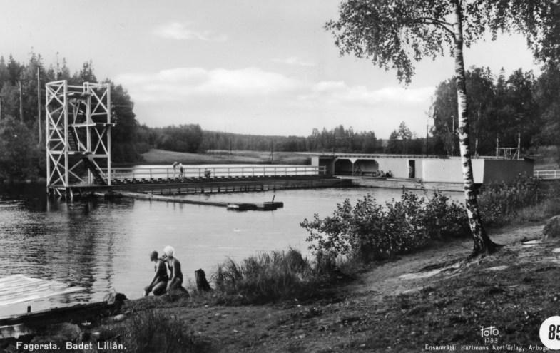 Fagersta Badet i Lillån