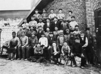 Hyttarbetare ca 1890-talet