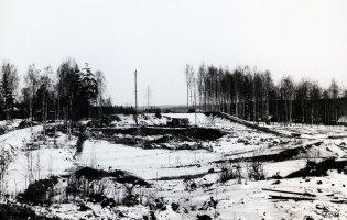 Schaktning för Fagersta hytta 1913