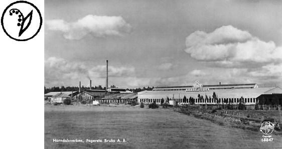 Horndalsverken på 1950-talet