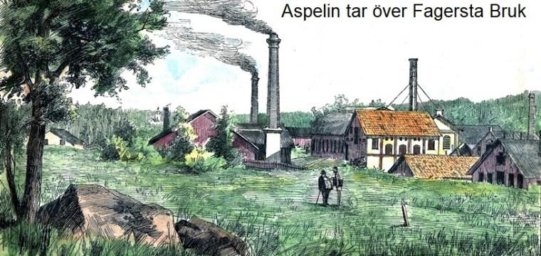 Aspelin tar över Fagersta Bruk