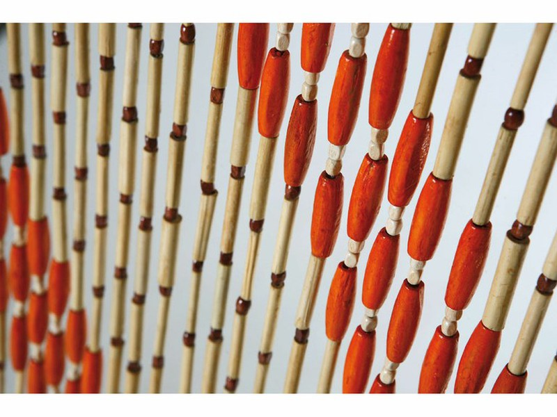 rideau de perles de bois catral 2 x 0