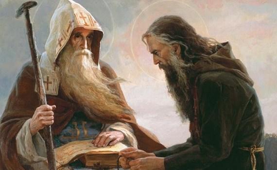starac duhovnik slika