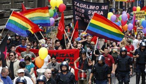 gej parada u Beogradu 27 jun 0002