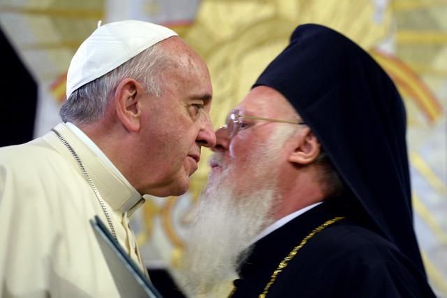 Пошаст екуменизма - Вартоломеј и папа у Турској - Братство
