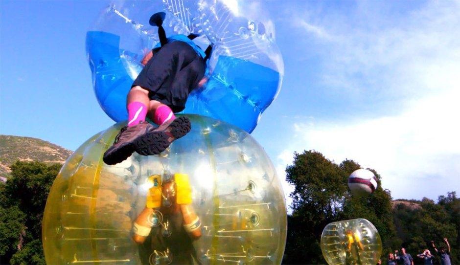 Bubblefootball Stockholm