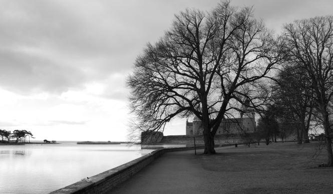 Kalmar Slott i bakgrunden