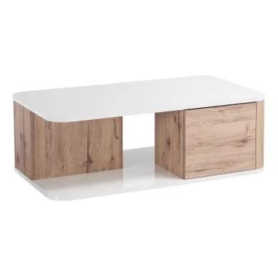 table basse meuble tv bois massif