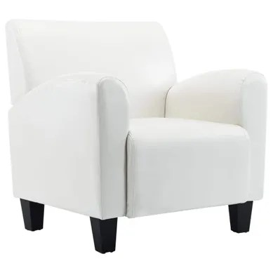 fauteuil fixe cabriolet blanc