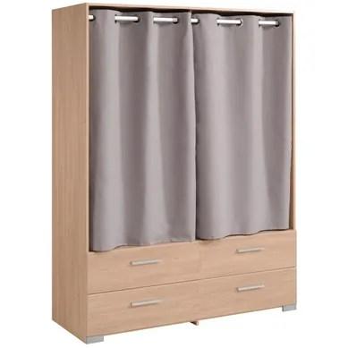 armoire avec rideau x