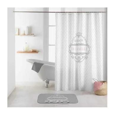 achat rideau de douche pas cher