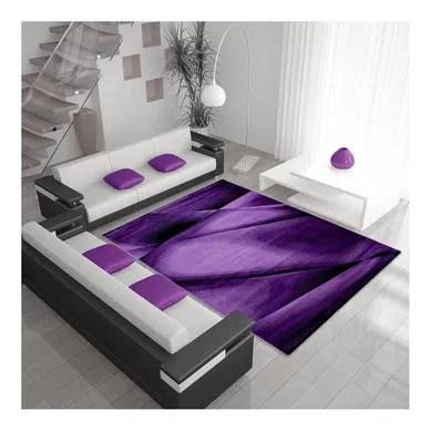 tapis salon et chambre violet