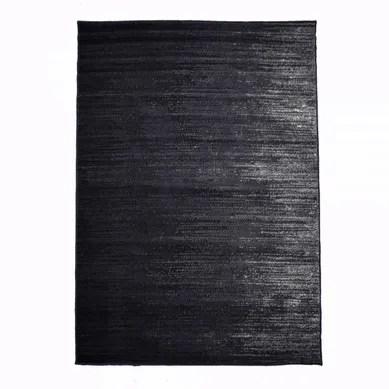 achat tapis salon et chambre noir pas