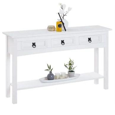 table console fixe ou extensible