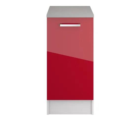 haut 80 cm 2 portes elibox 243203 blanc brillant