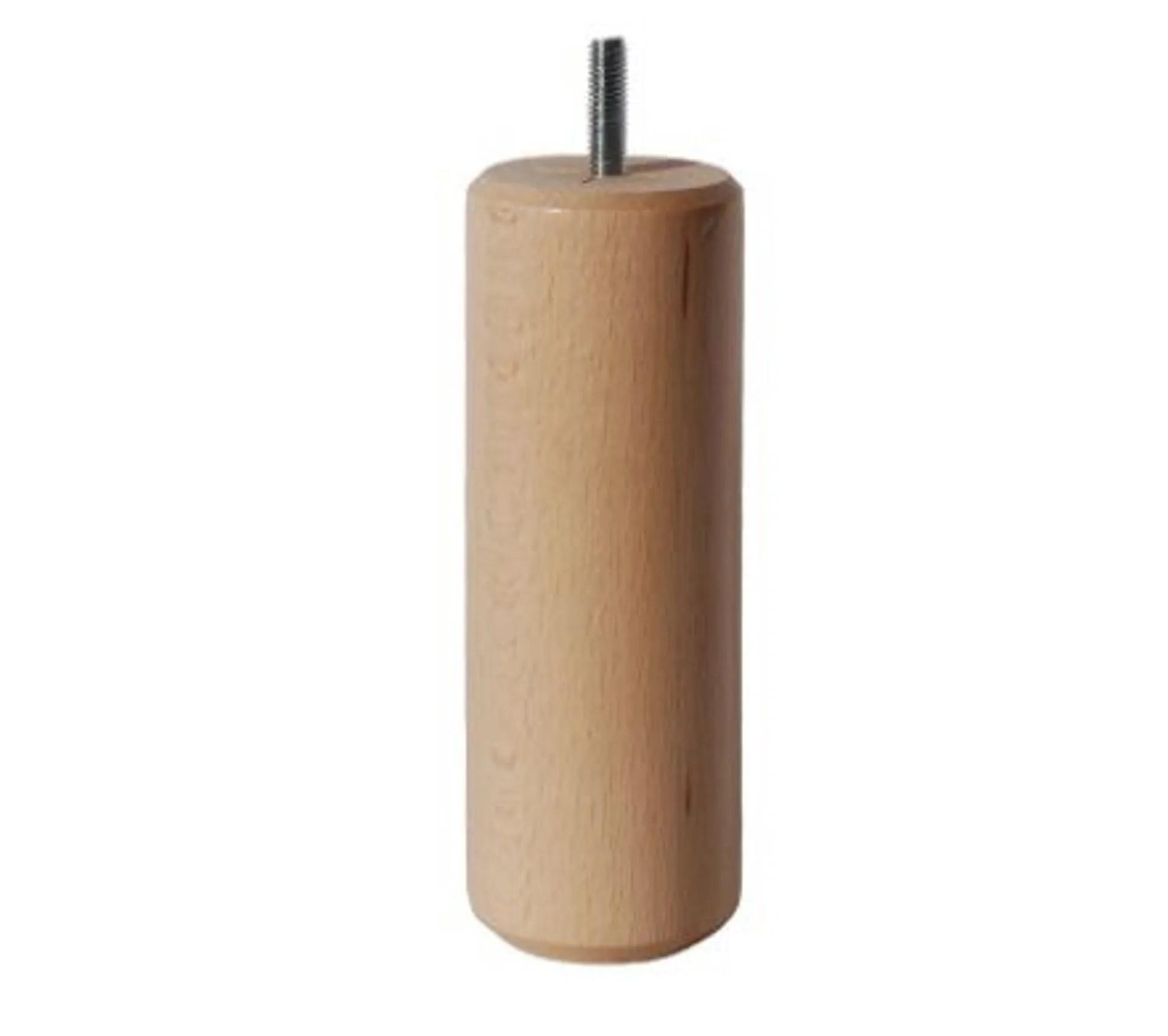 jeu de 4 pieds h 14 5 cm dreamea cylindre