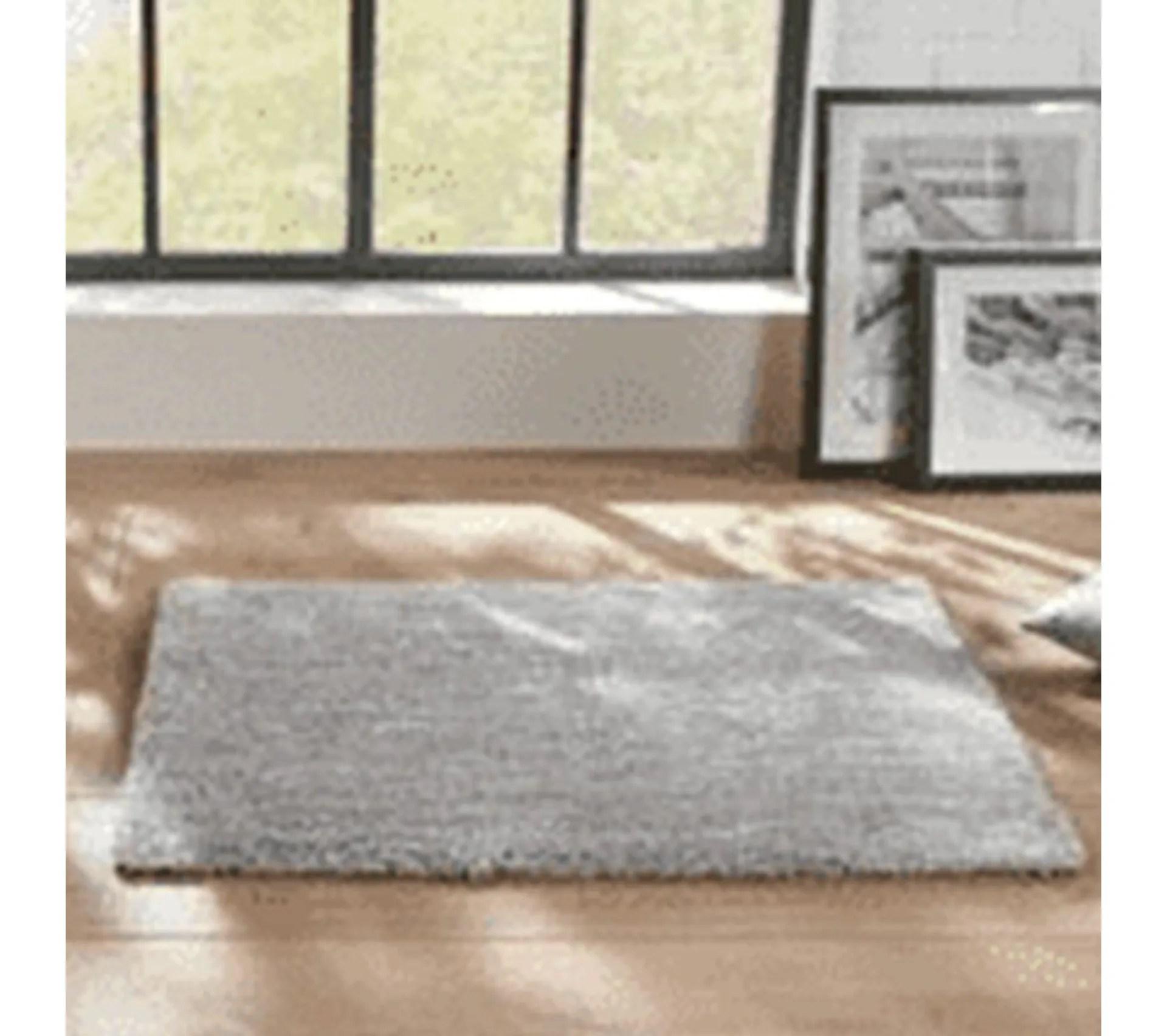 tapis chine 60x90 cm gris atmosphera